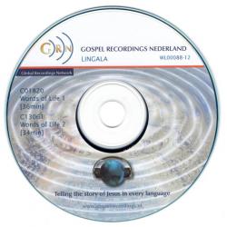 Lingala, CD, Woorden van Leven
