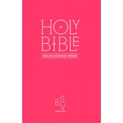 Engels, Bijbel, ESV, Medium formaat, Paperback, Pink