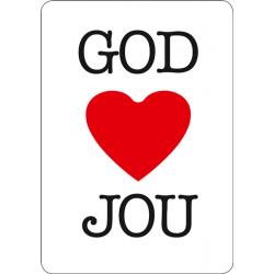 Nederlands, Kaart, God houdt van jou
