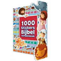 Nederlands, 1000 Stickers Bijbel verhalenboek, Sherry Brown