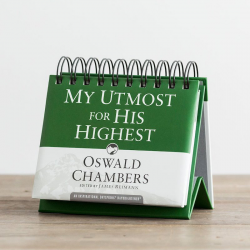Engels, Bijbels Dagboek, My Utmost For His Highest, Oswald Chambers