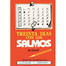 Spaans, Bijbelsdagboek, Dertig dagen met de Psalmen, S. Chaves & C. Yabraian