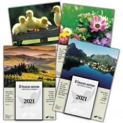 Italiaans, Kalender, Het Goede Zaad, Blok en Schild
