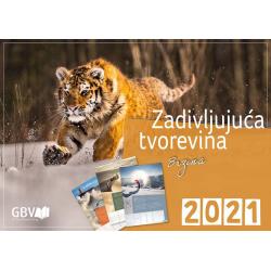 Kroatisch, Kalender, Fascinerende Schepping, 2021