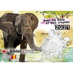 Frans, Kalender, Kleuren bij de Bijbel, 2021