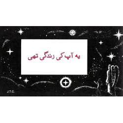 Urdu, Traktaatboekje, Comic strip, Dit was uw leven!