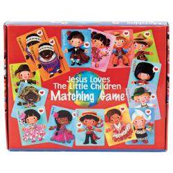 Engels, Jesus loves little children, Matching game