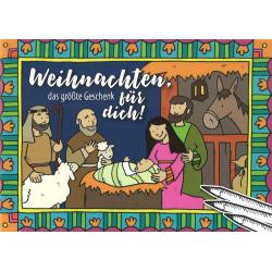 Duits, Kinderkleurboek, Kerst het mooiste cadeau voor jou!