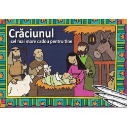 Roemeens, Kinderkleurboek, Kerst het mooiste cadeau voor jou!