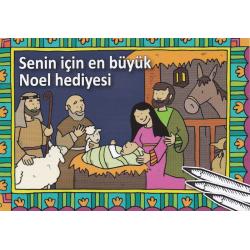 Turks, Kinderkleurboek, Kerst het mooiste cadeau voor jou!