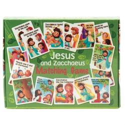 Engels, Jesus and Zacchaeus, Matching game