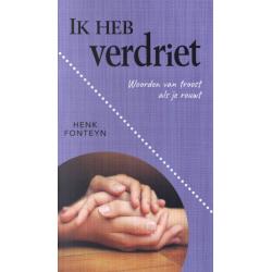 Nederlands, Brochure, Ik heb verdriet, Henk Fonteyn