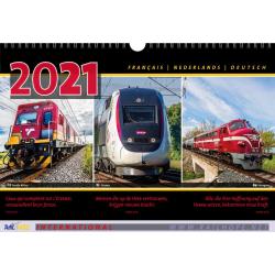 Kalender, RailHope, F,NL,D 2021