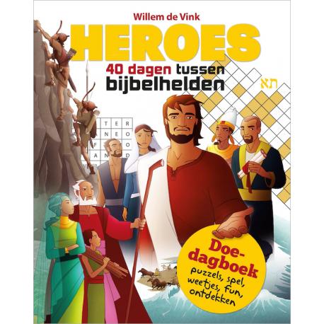 Nederlands, KinderBijbels dagboek, Heroes, Willem de Vink