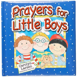 Engels, Kinderboek, Prayers for little boys, Carolyn Larsen