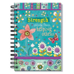 Engels, Notebook, Strenght comes from helping others