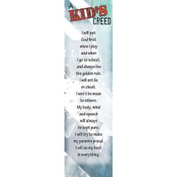 Engels, Boekenlegger, A Kid's creed
