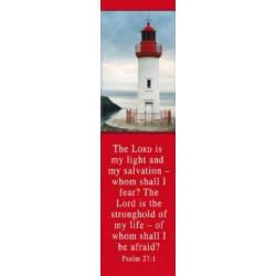 Engels, Boekenlegger, The Lord is my Light - Psalm 27:1