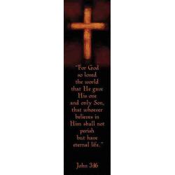 Engels, Boekenlegger, For God So Loved The World