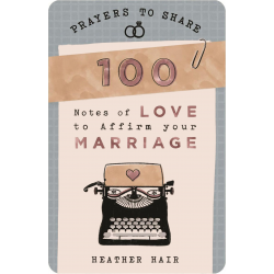 Engels, Prayers to share - 100 Notes of love to affirm your marriage