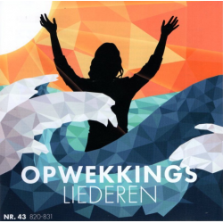 Audio-CD, Opwekkingsliederen 43, Nrs. 820 t/m 831