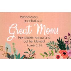 Engels, Tekstkaart, Great Mom!