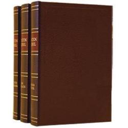 Nederlands, Bijbel, Statenvertaling, Met kanttekeningen, drie-delig