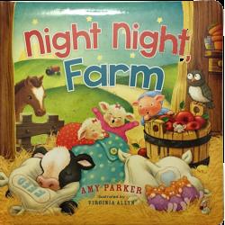 Engels, Kinderboek, Night Night Farm, Amy Parker