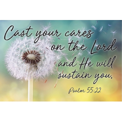 Engels, Kaart, Cast your cares on the Lord