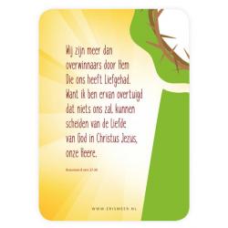 Nederlands, Kaartje, Christus Overwinnaar