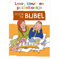 Nederlands, Kinderdoeboekje, Door de Bijbel, Gerda Hiemstra-Oudenampsen