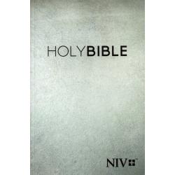 Engels, Bijbel, NIV, Groot formaat, Paperback, Grijs