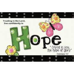 Engels, Kaartje, Hope