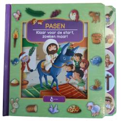 Nederlands, Kartonboek, Pasen - klaar voor de start, Vanessa Carroll