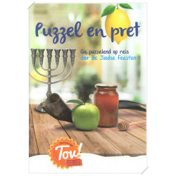 Puzzel en pret, Puzzelboekje Joodse feesten