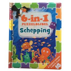 Nederlands, 6-in-1 Puzzelbijbel Schepping, Sherry Brown