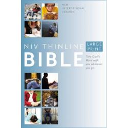 Engels, Bijbel, NIV, Groot formaat, Harde kaft, Thinline