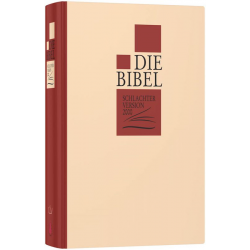 Duits, Bijbel, Schlachter 2000, Groot formaat, Harde kaft, Classic