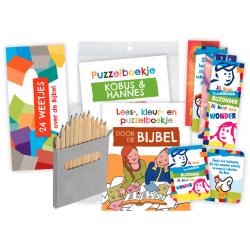 Nederlands, Kinderpakket, Puzzels
