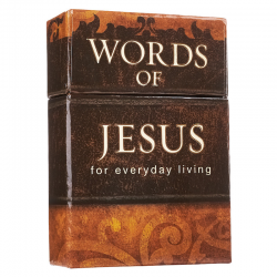 Engels, Boxes of blessings - Words of Jesus