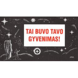 Litouws, Traktaatboekje, Comic strip, Dit was uw leven!