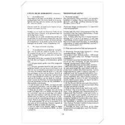 Armeens-Nederlands, Liturgie Reformatorische Kerkdienst