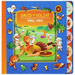 Spaans, Kinderboek, Zoek en vind: David & Goliath, Vanessa Carroll
