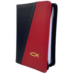 Roemeens, Bijbel, Cornilescu Revizuitã, Medium formaat, Luxe uitgave, Rood/Zwart