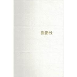 Nederlands, Trouwbijbel, NBG '51, Groot formaat, Harde kaft, Wit