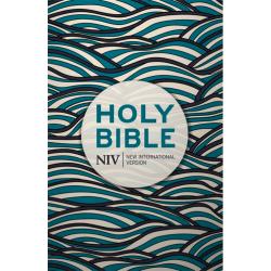 Engels, Bijbel, NIV, Medium formaat, Paperback, Blue waves