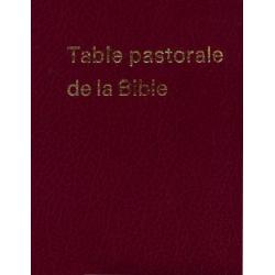 Frans, Bijbelstudie, Table pastorale de la Bible, G. Passelecq