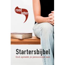 Het Boek, Roodletter Starterbijbel, Medium formaat, Harde kaft