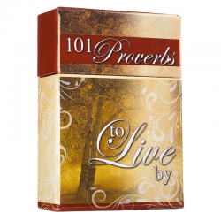 Engels, Kaart, boxes of blessings, 101 Proverbs to Live By