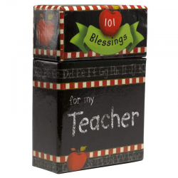 Engels, Boxes of Blessings, 101 Blessings For My Teacher